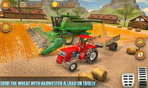 American Real Tractor Organic Farming Simulator 3D apktram screenshots 1