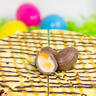 Cadbury Creme Egg Cheesecake.
