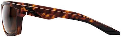 100% Daze Sunglasses: Soft Tact Dark Havana Frame with Bronze Lens alternate image 0