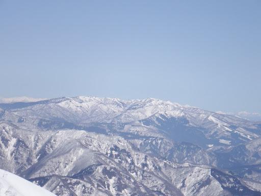 大日ヶ岳方面