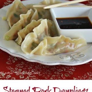Steamed Pork Dumplings.