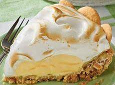 Lemon Meringue Ice-cream Pie Recipe