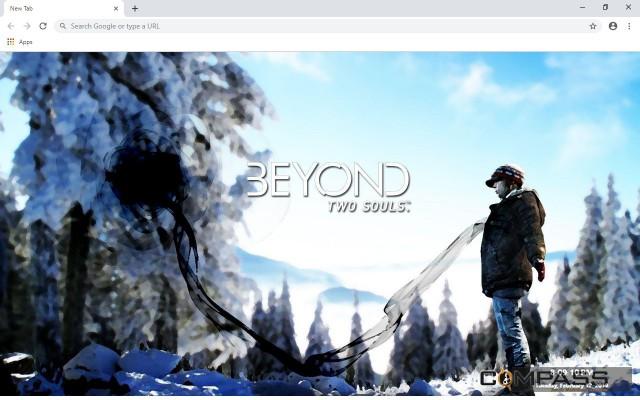 Beyond: Two Souls New Tab Theme