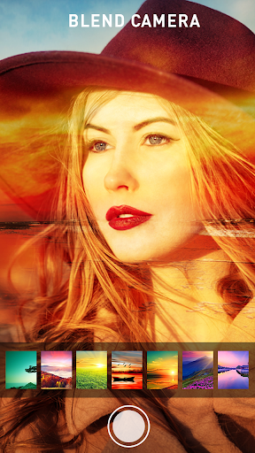 Photo Blend cam: Auto photo mixer blender merger 1.4 screenshots 2