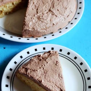 Eggless Vanilla Cake Recipe with condensed milk
