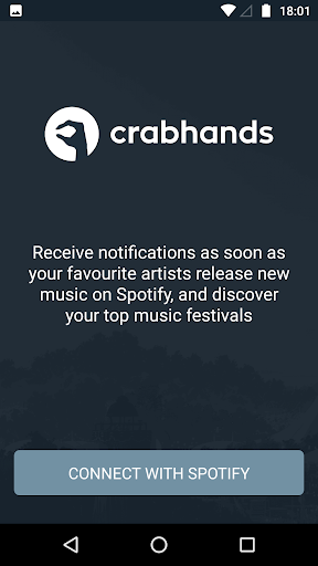 crabhands: new music releases & festival lineups 2.06 screenshots 1