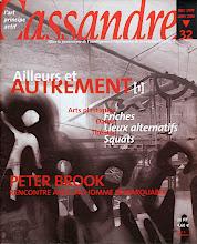 Photo: © Olivier Perrot Couverture Cassandre 32 www.horschamp.org