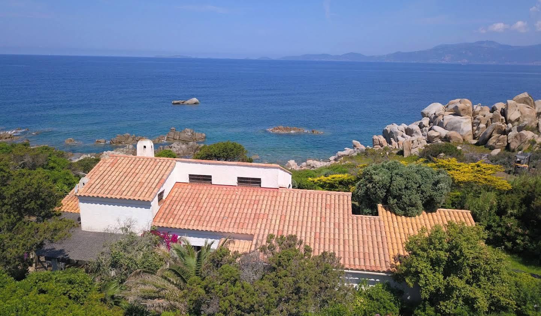 Villa en bord de mer avec jardin Coti-Chiavari