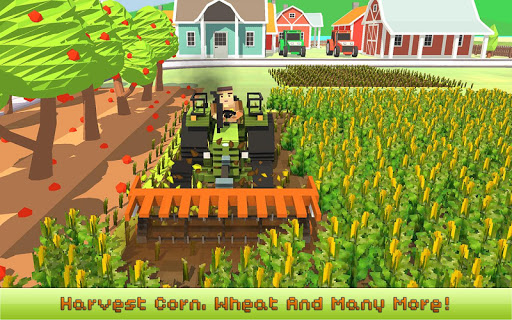 Blocky Farm: Corn Professional 1.4 screenshots 3
