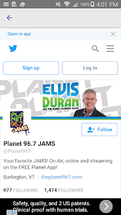 Planet 96.7- screenshot thumbnail