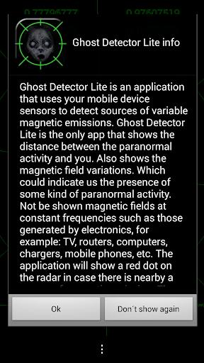 Ghost Detector Lite screenshot 3