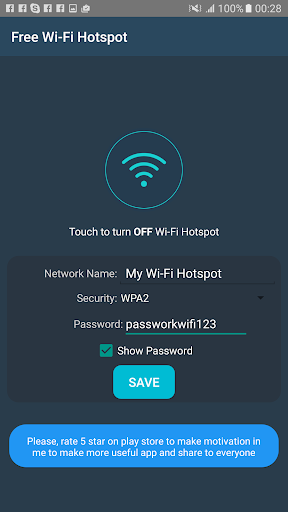Free Wifi Hotspot Portable 3.3 screenshots 7