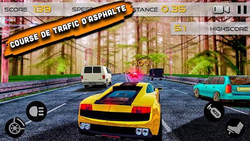 gt route racer: zone de conduite  captures d'écran 1