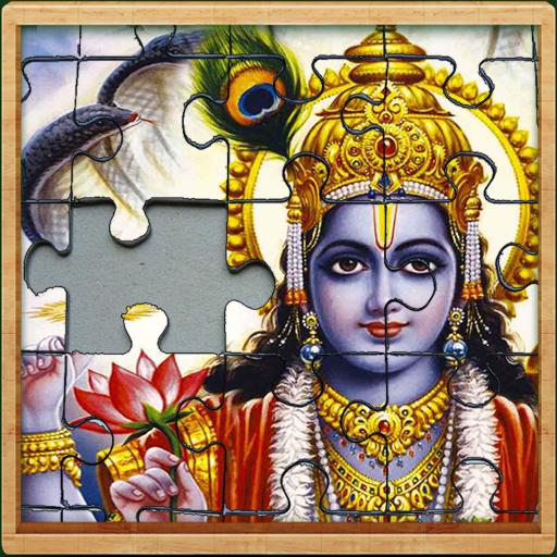 lord Vishnu Jigsaw Puzzle game
