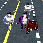 Sumotori Drunk Wasted Masters-Kung Fu Fighting 3D Icon