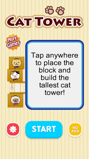 Cat Tower - Free endless game