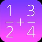 Fracción de la calculadora icon