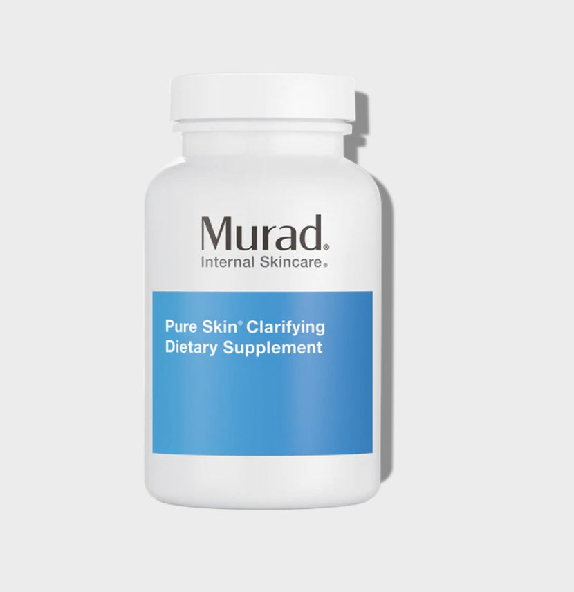 Murad Pure Skin Clarifying Dietary Supplement vitamins for acne