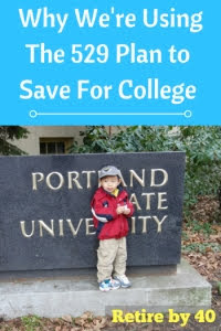 Why we are using the 529 plan to save for college pros cons
