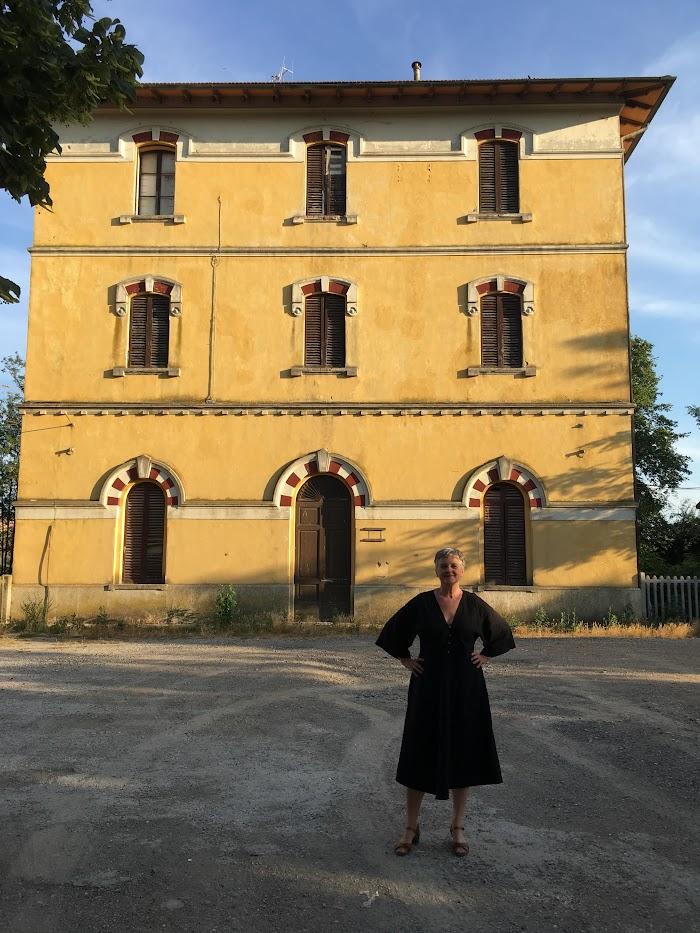 La stazione di Sant'Angelo-Cinigiano, Sant'Angelo Scalo