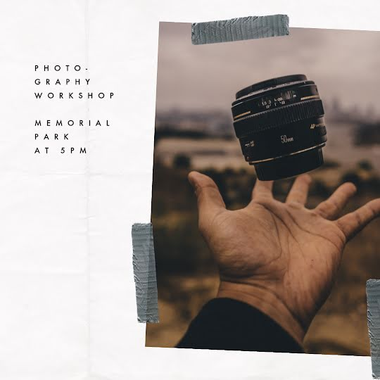 Photography Workshop - Instagram Post Template