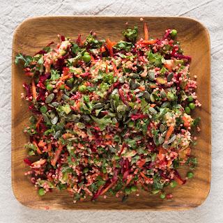 Beetroot and Millet Mega-Salad.
