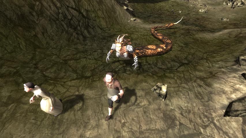 android Gorgon Simulator 3D Screenshot 1
