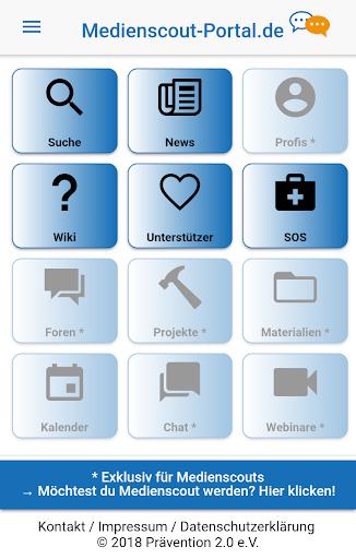 Medienscout-Portal screenshots 1