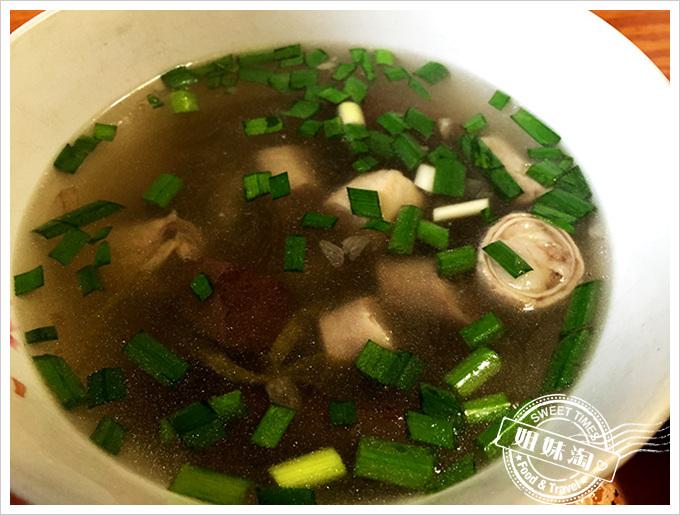 吳記肉圓-豬血腸湯