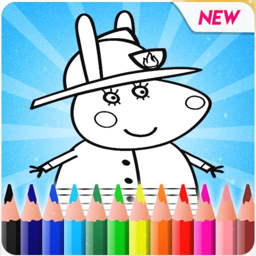 Peepa pig Coloring book