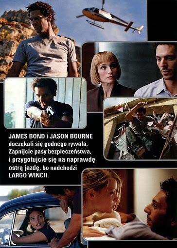 Tył ulotki filmu 'Largo Winch'