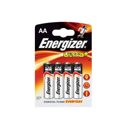 Energizer Ultra+ Batteri LR06 / AA 1,5V 4-pack