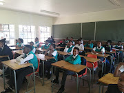 Learners at Crystal Park high school