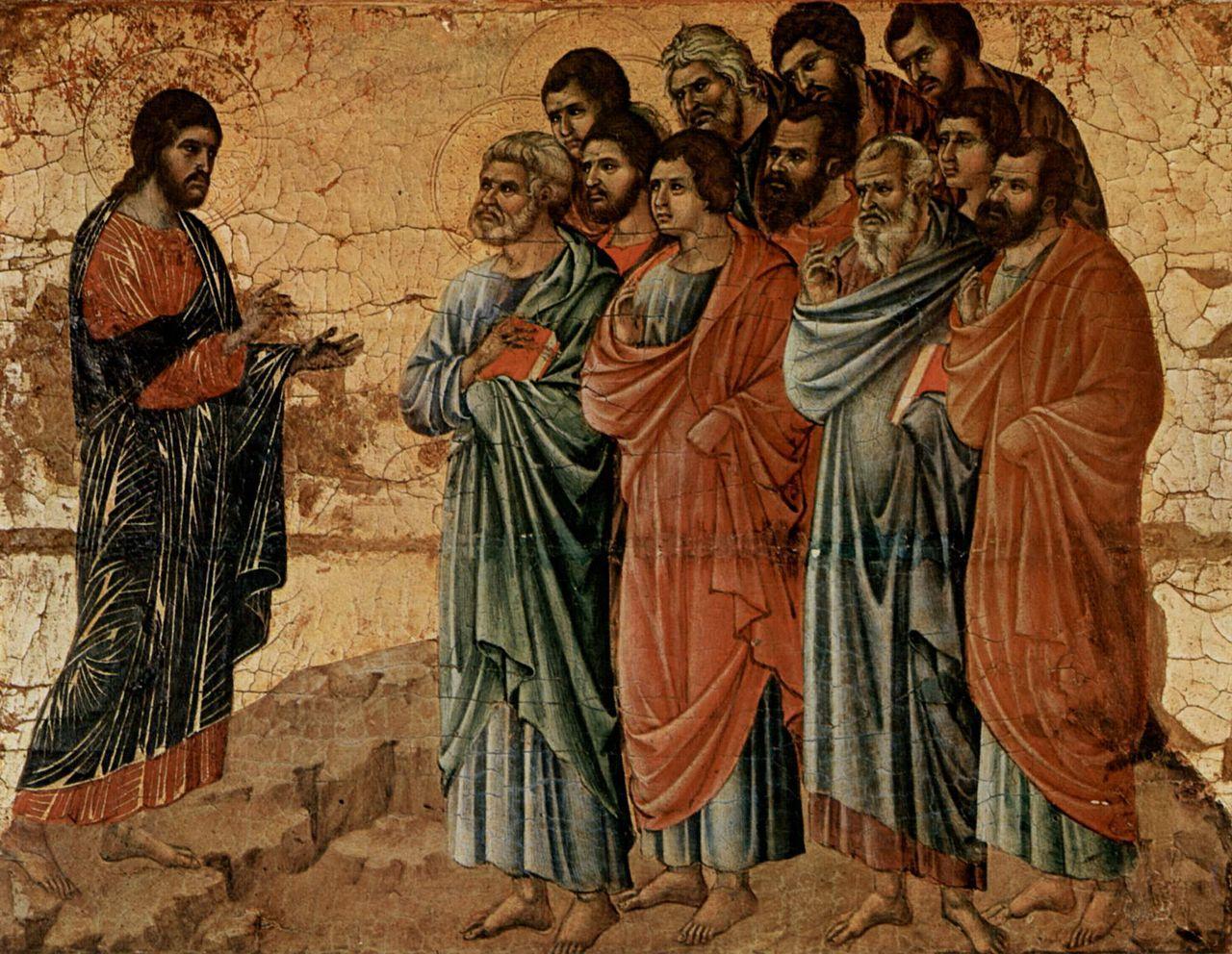 Imágenes: Jesús y los discípulos