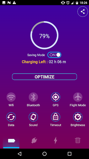 Battery Saver R500 screenshots 1