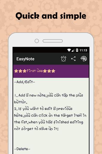 EasyNote - 메모장 위젯