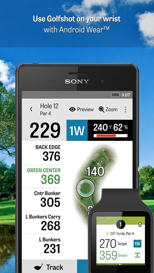 Golfshot: Golf GPS + Tee Times- screenshot