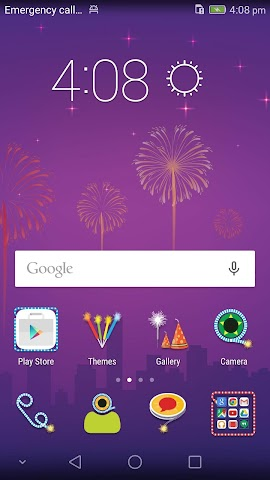 android Honor 6 Diwali Theme Screenshot 2