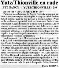 Photo: 02-12-96 N2F Angela Fomenko privée de derby, l'ASVB s'incline 3-0