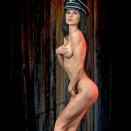 Put your hands up ? Really ? by David Senecal - Nudes & Boudoir Artistic Nude