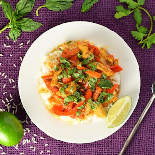 Coconut Lime Chicken Curry and Rice