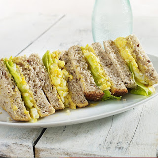 Curried Egg Sandwich
