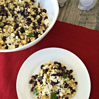 White Corn & Black Beans Recipe