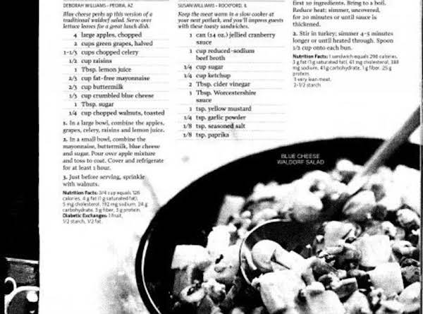 This Is The Page From Healthy Cooking, I Have Been Married Since Then  So If You Can See The Name It Is Different Now.