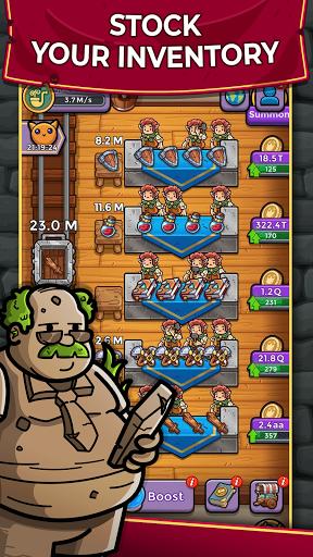 Dungeon Shop Tycoon: Craft, Idle, Profit! u2694ufe0fud83dudcb0ud83euddd9 modavailable screenshots 4