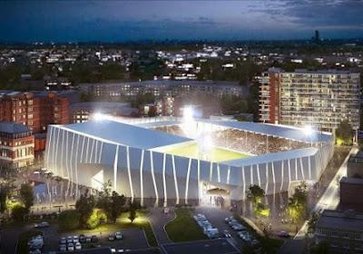 Voilà à quoi devrait ressembler le prochain stade de Charleroi!