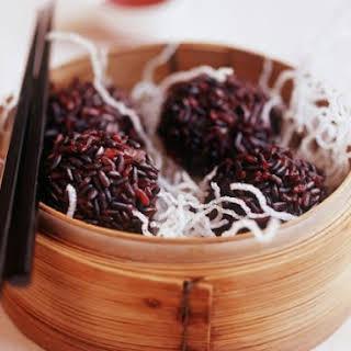 Oriental Rice Balls.
