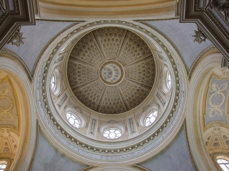 Cupola alla Venaria Reale di Giò Volpi