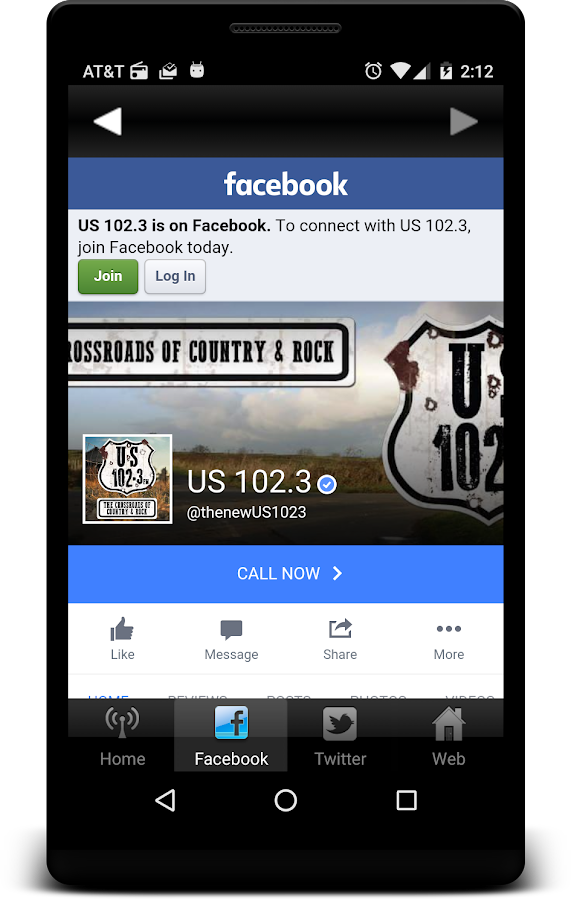 US 102.3- screenshot