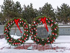 Photo: Columbarium Honor Wreaths